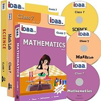 Class 7-Mathematics, EVS & Maths Activity Combo CDs-IDaa