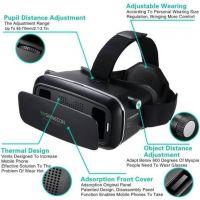 Debock Shinecon Virtual Reality Headset VR Box 3D Video Glasses (Black)