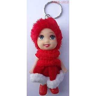 Key-chain Ring With Cute Soft Doll Toy (PRDN - 1012)