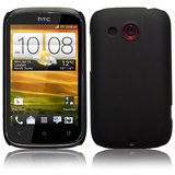 Black Slim Hard Back Cover Case Pouch Skin Fit For HTC Desire C A 320e