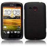 Black Slim Hard Back Cover Case Pouch Skin Fit For HTC Desire C A 320e
