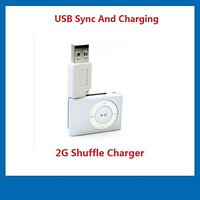 2G Shuffle Charger For Apple IPod Shuffle USB Data Sync
