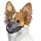 Dog Nylon Adjustable Muzzle For Small Breed Dogs And Puppies