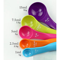 Measuring Spoon 5 Ensemble With A Scale Measuring Spoon Tablespoon Teaspoon