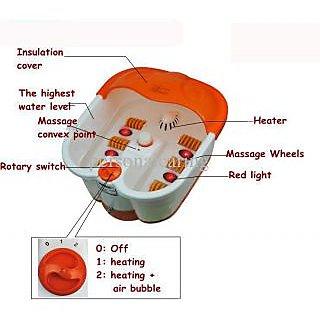 Footbath Detox Massager