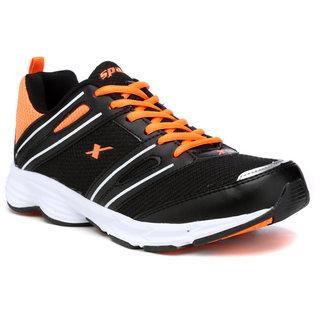 Sparx Mens Black Running Shoes