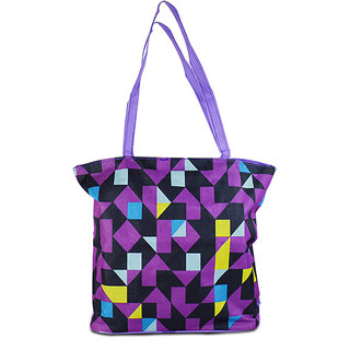 Adbeni Multi Colored Tote Bag-CB45