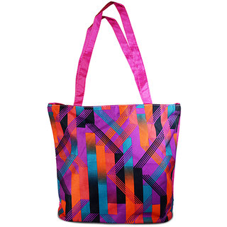 Adbeni Multi Colored Tote Bag-CB43