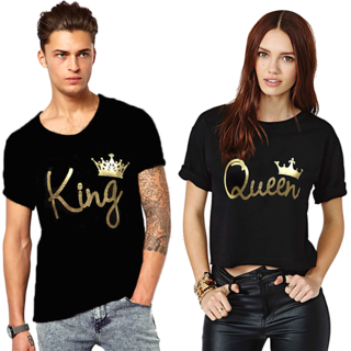 King And Queen Couple Combo