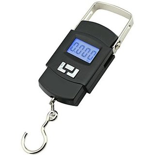 50Kg Digital LCD Pocket Portable Hanging Kitchen Weight