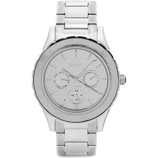 DKNY Ny2117 Round Silver Stainless Watch For Women