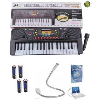 KTG MS -005 Electronic Keyboard,Mic With Freebie  Free Shipping