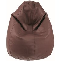 Fab Homez_dark Brown_XXXL Bean Bag(Cover Only)