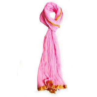 v.s pink cotton scarf
