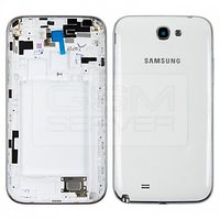 Combo OfferBody Housing Panel White + Battery For Samsung Galaxy Note 2 N7100