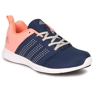 Adidas Men Navy Lace-up Running Shoes