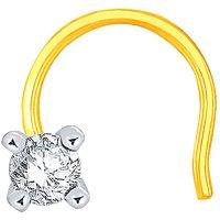 Beautiful Sparkling Diamond Nosepin PJ11104SI-JK14Y