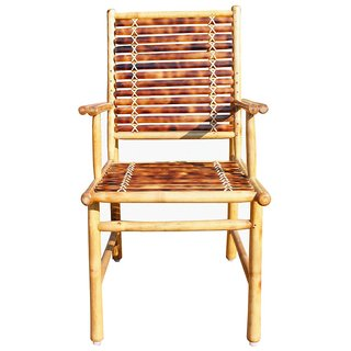 Bamboo Dining chair with handle