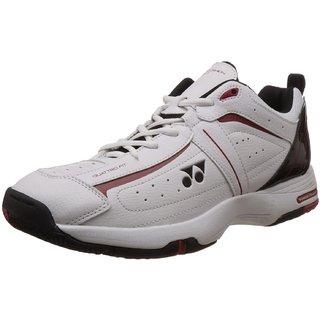 Yonex SHT Soft Tennis Shoes UK3.5 (White/Black): Buy Yonex SHT ...