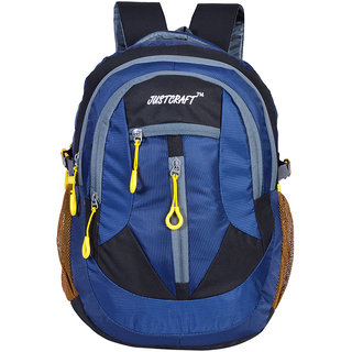 Justcraft Hunk Black and Blue 35 Liters Backpacks
