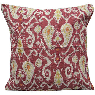 Kantha Handmade Cushion Cover(Design 1)