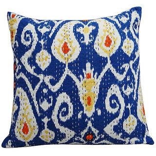 Kantha Handmade Cushion Cover(Option 1)