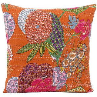 Kantha Handmade Cushion Cover(Option 3)