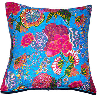Kantha Decorative Cushion Cover(Design 4)