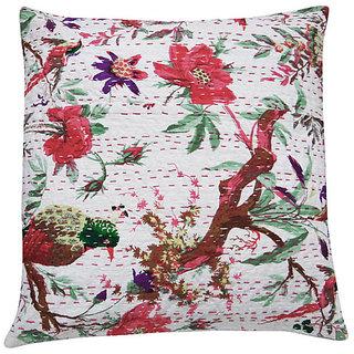 Kantha Handmade Cushion Cover(Option 6)