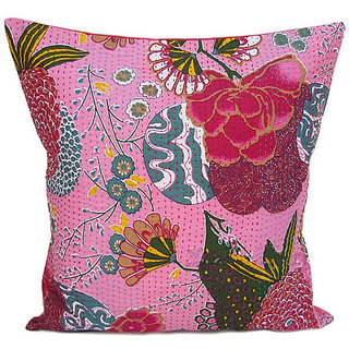 Kantha Decorative Cushion Cover(Design 6)