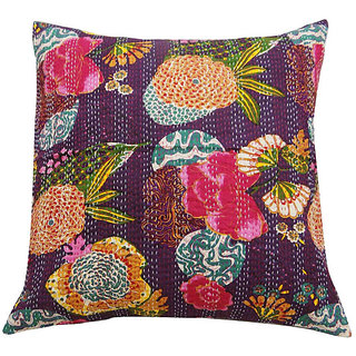 Kantha Decorative Cushion Cover(Design 7)