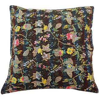 Kantha Handmade Cushion Cover(Option 8)