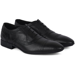 Ziraffe CHIVAS Black Mens Formal Shoes