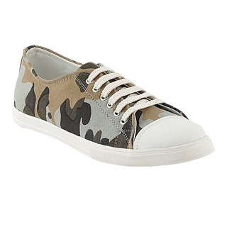 Zeboot Canvas lace-up sneakers Sneakers