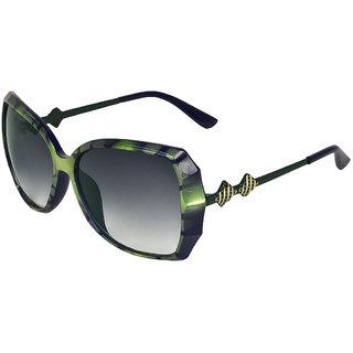 Zyaden Green Oversized Sunglasses For Women 367