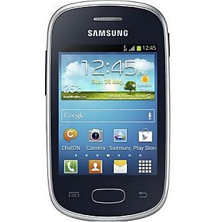 Samsung Galaxy Star S5282  Black  available at ShopClues for Rs.3299