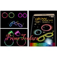 Neon Glow Party Set Or Combo Pack Of 5 Glow Products - Perfect For Any Party
