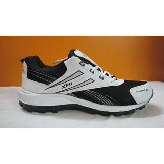 sport shoes for men in white black coloured