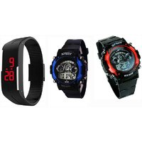 Combo Led watch for kid  by  miss