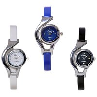 Glory 3 PIECES GLORY COMBO WATCHES by miss