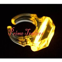 Neon Glow Finger Ring Set Of 2pc - Perfect Product For This New Year Party
