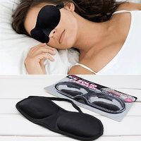 3D Sleeping Soft Eyeshade Eye Mask Shade Blindfold Cover Travel Rest