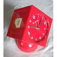 Table Clock Alarm Clock For Study Table Bedroom Bedtime With 3 Side Photo Frame