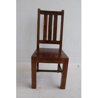 Sims Wood Dining Chair Brown