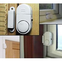 6 Wireless Home Window Door Entry Burglar Security Alarm System Magnetic Se