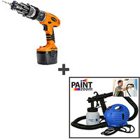 Telebuy Tim & Brown 900S Drill & Driver + Paint Zoom