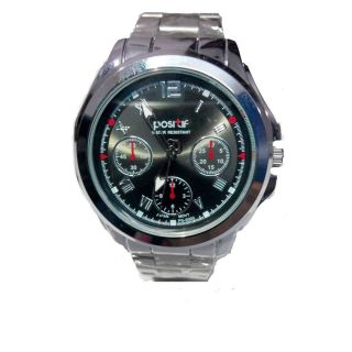 Limited Edition Stainless Steel Premium Looks Light Weight Metallic Watch