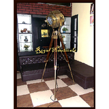 Hand Made Antique Floor Searchlight Antique Perkins Marine Antique Spot Search