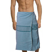 Deal Wala 1 Piece Set Of Russian Cottton Bath Towel - Blue