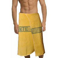 Deal Wala 1 Piece Set Of Russian Cotton Bath Towel - Yellow